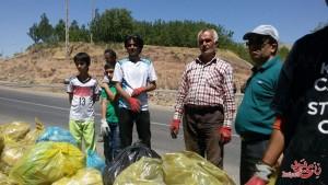پاکسازی رودخانه رزجرد، ۹ مرداد ۹۴، تصویر ۶