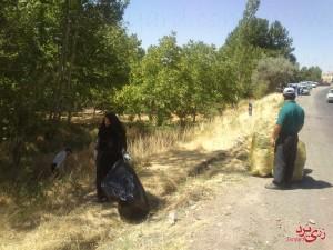 پاکسازی رودخانه رزجرد، ۹ مرداد ۹۴، تصویر ۱