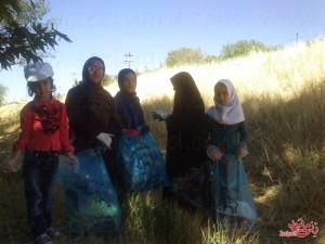 پاکسازی رودخانه رزجرد، ۹ مرداد ۹۴، تصویر ۳