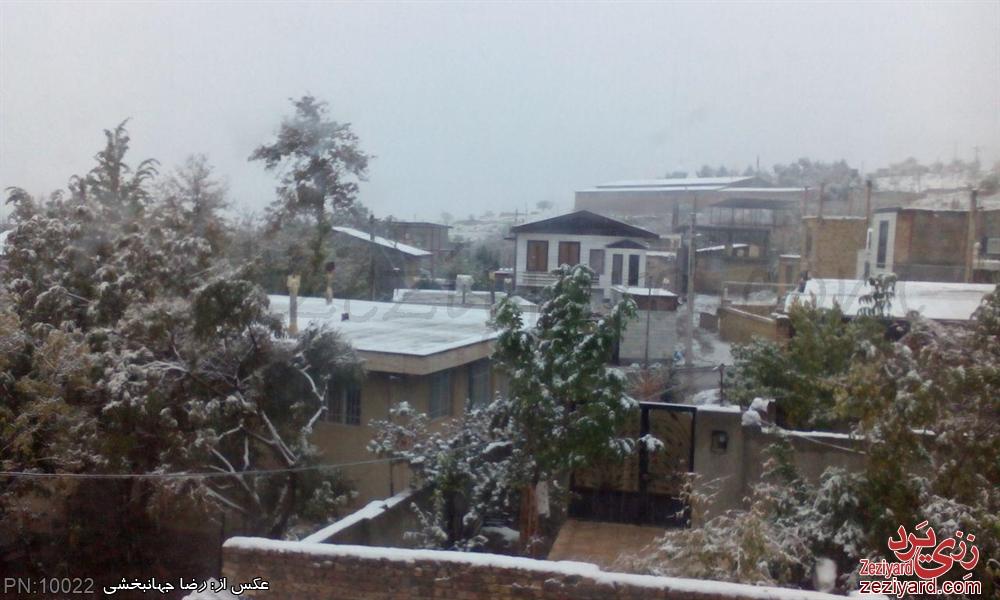 اولین برف سال 94 - عکس 7