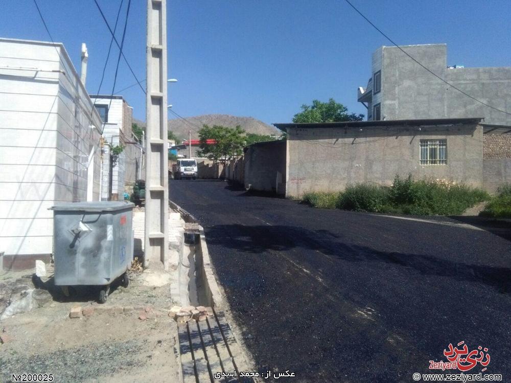 آسفالت ریزی خیابان بابایی (بهداری) رزجرد - تصویر 3