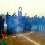 تیم شهید زهیر، قهرمان فصل 95-96