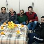 دیدار جمعی از بازیکنان لیگ فوتبال رزجرد با آقای سید جمال موسوی نجفی